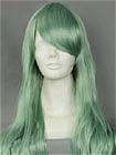 Green Wig (Long,Wavy,B32)