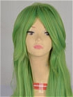Green Wig (Long,Wavy,N)