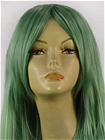 Green Wig (Long,Wavy,RSMiku)