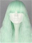 Green Wig (Long,Weavy,Lolita,27)