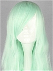 Green Wig (Long,Weavy,Lolita,37)