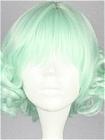 Green Wig (Short,Curly,Lolita,33)