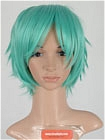 Green Wig (Short,Spike,Mikuo,CF29)