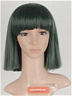 Green Wig (Short, Straight,Haku)