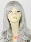Grey Wig (Long,Curly,Victoria CF22)