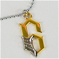 Grimmjow Necklace (Gold) Da Bleach