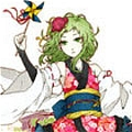 Gumi Cosplay (Dance of Flower) von Vocaloid