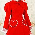 Lolita Dress (08040400-R Red)