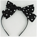 Hair Band (Star,Black)