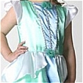 Halloween Princess Costume (Kids,Green)