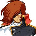 Harlock Cosplay from Space Pirate Captain Harlock