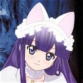 Hazuki Cosplay from Tsukuyomi Moon Phase