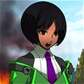 Hibiki Cosplay (Green) from BlazBlue Chronophantasma