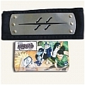 Naruto Headband (Black,Hidden,Mist Village,Package) Da Naruto