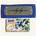 Naruto Headband (Blue,Hidden,Mist Village,Package) Da Naruto