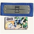 Hidden Ninja Headband Sand Village Blue from Naruto (Package)