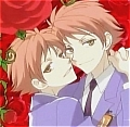 Hikaru and Kaoru Orange Cosplay Wig from Ouran High School Host Club