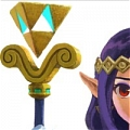 Hilda Staff Da The Legend of Zelda