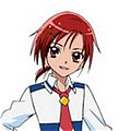 Hino from Smile PreCure