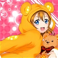 Honoka Costume (I'll Eat You Up) from Love Live