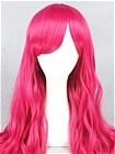 Hot Pink Wig (Long, Curly, Lolita L07)