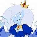 Ice Queen Cosplay Desde Adventure Time