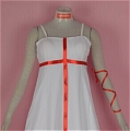 Inori Cosplay (White Dress,Stock) Desde Guilty Crown