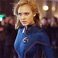 Invisible Woman Cosplay from Fantastic Four Rise of the Silver Surfer