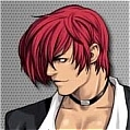 Iori Yagami Cosplay Wig from The King of Fighters