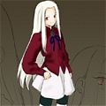 Irisviel Cosplay von Fate Zero