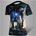 Iron Man T shirt (Black)