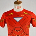 Iron Man T shirt (Red)