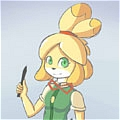 Isabelle Cosplay De  Animal Crossing New Leaf