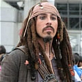 Jack Cosplay Desde Pirates of the Caribbean