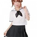 Japanese Uniform School Girl (Emi)