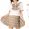 Japanese Uniform School Girl (Makiko)