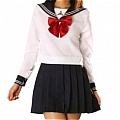 Japanese Uniform School Girl (Saori)