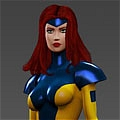 Jean Grey Cosplay von X Men