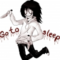 Jeff The Killer Cosplay von Creepypasta