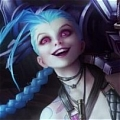 Jinx Cosplay Desde League of Legends