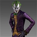 Joker Costume De  Batman: Arkham City