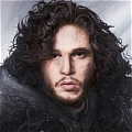 Jon Cosplay from Game of Thrones