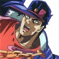 Jotaro Cosplay (Red) Desde JoJo's Bizarre Adventure