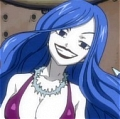 Juvia Cosplay (Rocker version) Da Fairy Tail