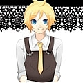 Kagamine Cosplay (Alice Human Sacrifice) from Vocaloid