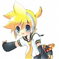 Kagamine Cosplay (Len,Doujinshi The Servant of Evil) from Vocaloid