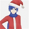 Kaito Cosplay (Christmas) from Project DIVA