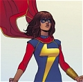 Kamala Khan Cosplay from Ms. Marvel