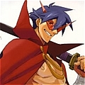 Kamina Cosplay from Gurren Lagann
