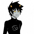 Karkat Cosplay from Homestuck